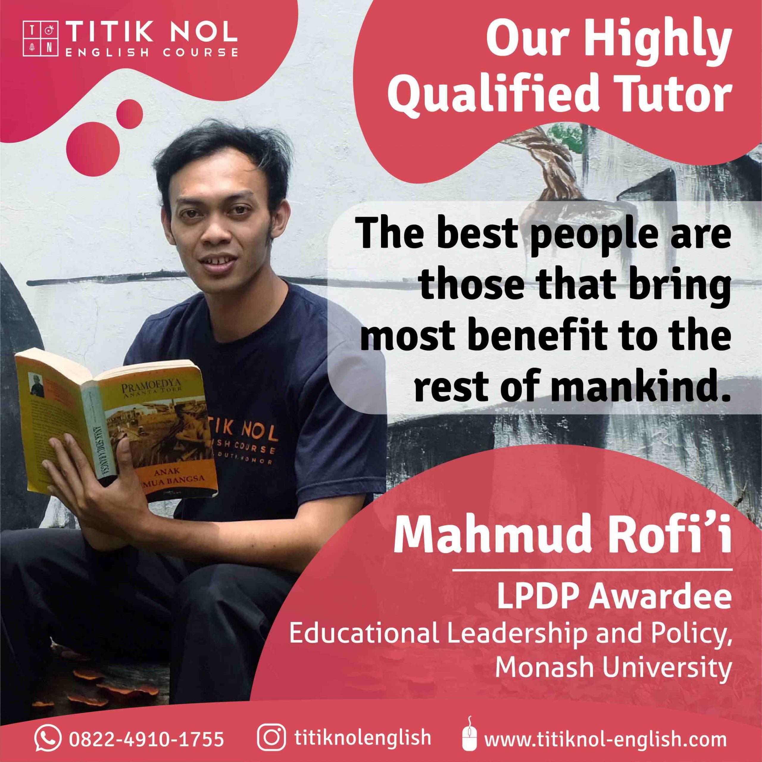tutor kampung inggris mahmud