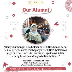 Alumnis Diskon Paket Kursus 2 Bulan-Sansan